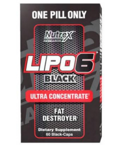 Nutrex Lipo 6 Black Ultra Concentrate (60 капсул)
