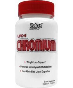 Nutrex Lipo-6 Chromium (100 капсул, 100 порций)