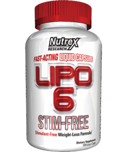 Nutrex Lipo 6 Stim-Free (120 капсул, 60 порций)