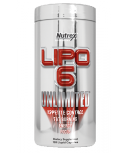 Nutrex Lipo 6 Unlimited (120 капсул)