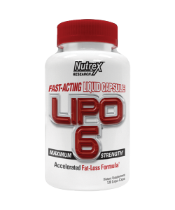 Nutrex Lipo 6 (120 капсул, 60 порций)