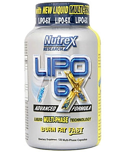 Nutrex Lipo 6X (120 капсул)