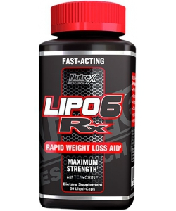 Nutrex Research Lipo 6 Rx (60 капсул)