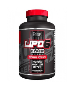 Nutrex Research Lipo-6 Black Maximum Potency (120 капсул, 20 порций)