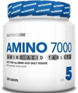 Nutricore Amino 7000 (300 таблеток, 37 порций)