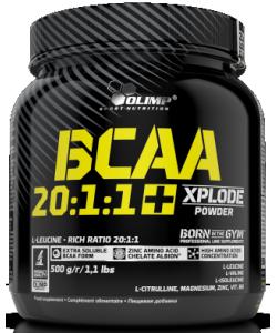 Olimp BCAA 20:1:1 Xplode (500 грамм, 50 порций)