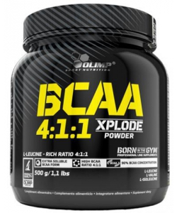 Olimp BCAA 4:1:1 Xplode Powder (500 грамм, 100 порций)