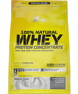Olimp Labs 100% Natural Whey Protein Concentrate (750 грамм, 21 порция)