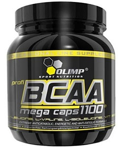 Olimp Labs BCAA Mega Caps 1100 (300 капсул, 100 порций)