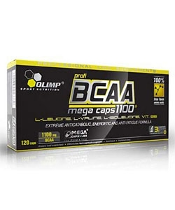 Olimp Labs BCAA Mega Caps 1100 (120 капсул, 40 порций)