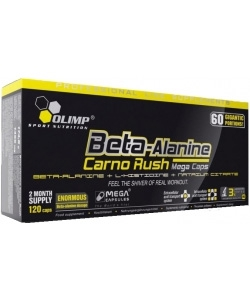 Olimp Labs Beta Alanine Carno Rush (120 капсул)