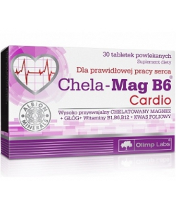 Olimp Labs Chela-Mag B6 Cardio (30 таблеток)