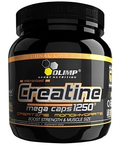 Olimp Labs Creatine 1250 Mega Caps (400 капсул)