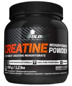 Olimp Labs Creatine monohydrate powder (550 грамм)