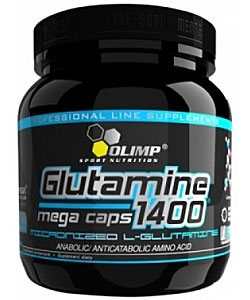 Olimp Labs Glutamine Mega Caps 1400 (300 капсул)