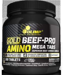 Olimp Labs Gold Beef-Pro Amino Mega Tabs (300 таблеток)