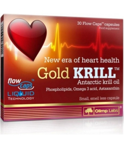 Olimp Labs Gold Krill (30 капсул, 30 порций)