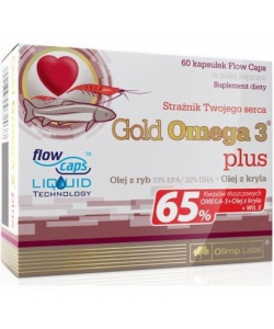 Olimp Labs Gold Omega 3 Plus (60 капсул)