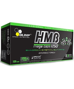 Olimp Labs HMB 1250 Mega Caps (120 капсул)