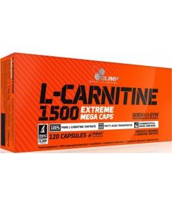 Olimp Labs L-Carnitine 1500 Extreme Mega Caps (120 капсул)