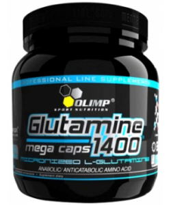 Olimp Labs L-Glutamine 1400 Mega Caps (300 капсул)