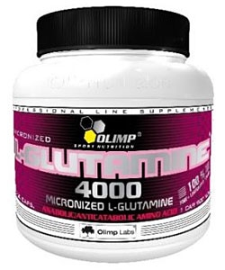 Olimp Labs L-Glutamine 4000 (200 капсул)
