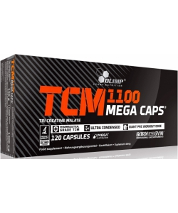 Olimp Labs TCM Mega Caps 1100 (120 капсул)
