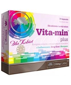Olimp Labs Vita-Min Plus For Women (30 капсул)