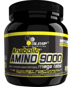 Olimp Labs Whey Amino 9000 (300 таблеток)
