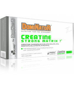 Olimp Sport Nutrition for DomiNatoR Creatine Strong Matrix 7 (120 капсул)
