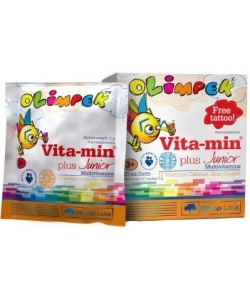 Olimp Vita-min Plus Junior Multivitamins (15 пак., 15 порций)