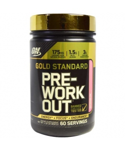 Optimum Gold Standard Pre Workout (600 грамм, 60 порций)