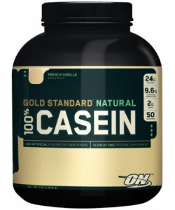 Optimum Nutrition 100% Casein Gold Standard Natural (1818 грамм, 50 порций)