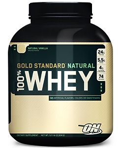 Optimum Nutrition 100% Whey Gold Standard Natural (2300 грамм, 73 порции)