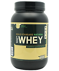 Optimum Nutrition 100% Whey Gold Standard Natural (900 грамм, 28 порций)