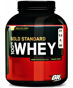 Optimum Nutrition 100% Whey Gold Standard (2270 грамм, 80 порций)