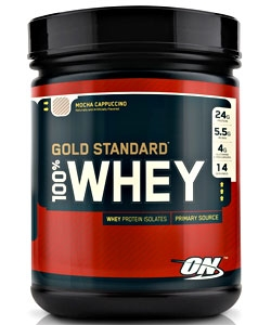 Optimum Nutrition 100% Whey Gold Standard (454 грамм, 14 порций)