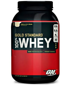 Optimum Nutrition 100% Whey Gold Standard (909 грамм, 32 порции)
