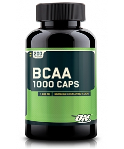 Optimum Nutrition BCAA 1000 Caps (200 капсул, 100 порций)