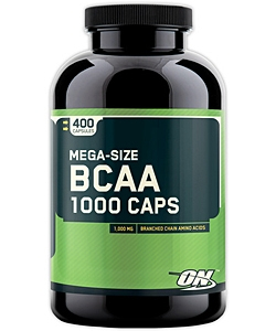 Optimum Nutrition BCAA 1000 Caps (400 капсул, 200 порций)