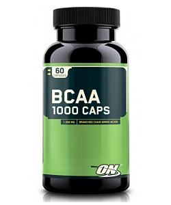 Optimum Nutrition BCAA 1000 Caps (60 капсул, 30 порций)