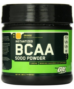 Optimum Nutrition BCAA 5000 Powder (380 грамм, 40 порций)
