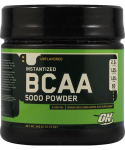Optimum Nutrition BCAA 5000 Powder (345 грамм, 36 порций)