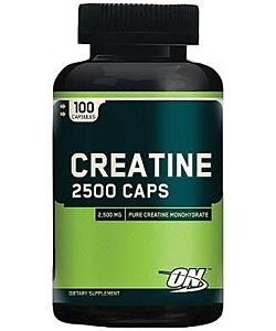 Optimum Nutrition Creatine 2500 Caps (100 капсул)