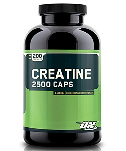 Optimum Nutrition Creatine 2500 Caps (200 капсул)