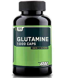 Optimum Nutrition Glutamine 1000 Caps (120 капсул, 120 порций)
