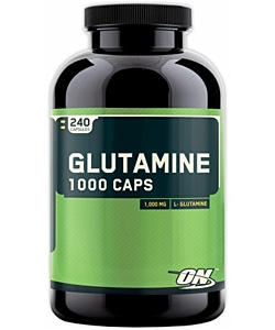 Optimum Nutrition Glutamine 1000 Caps (240 капсул, 240 порций)