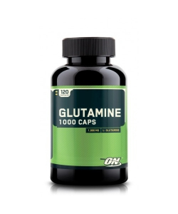 Optimum Nutrition Glutamine 1000 (120 капсул, 120 порций)