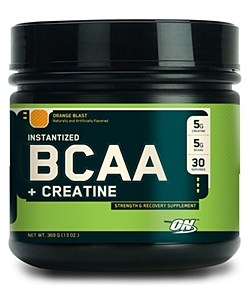 Optimum Nutrition Instantized BCAA + Creatine (600 грамм, 56 порций)