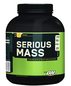 Optimum Nutrition Serious Mass (2720 грамм)